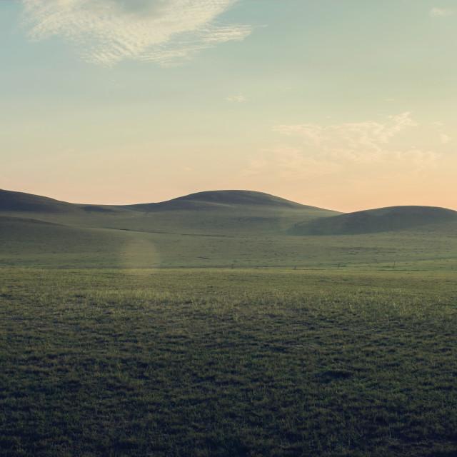 """""""FR Inner Mongolia Hills"""" stock image"""