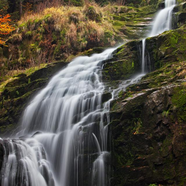 """Kamienczyk Waterfall in Poland"" stock image"