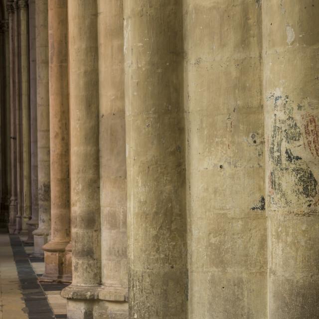 """Pillars Cathedral Tours"" stock image"