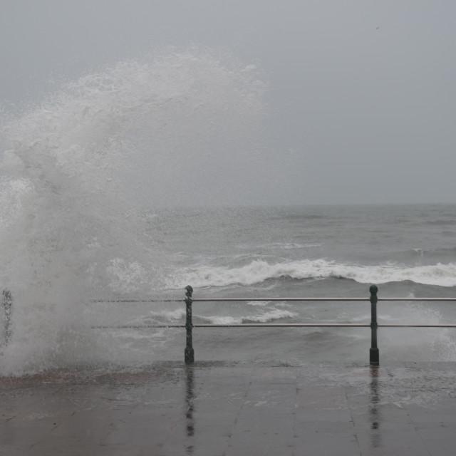 """""""Stormy seas"""" stock image"""