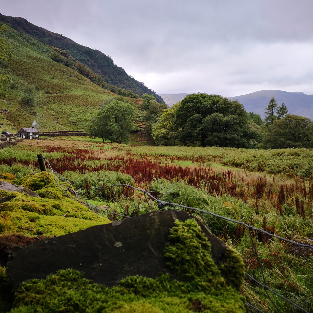 """Lake District Landscape"" stock image"