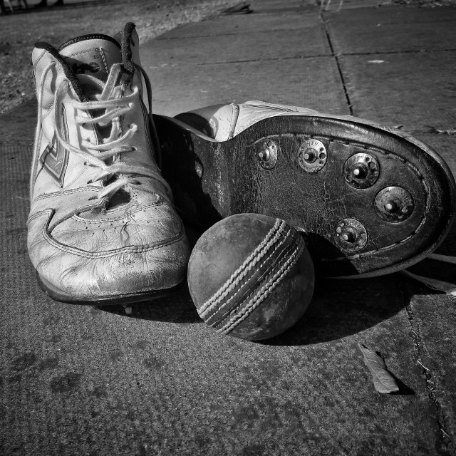 """""""My old boots"""" stock image"""
