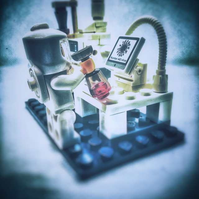 """""""Science experiment"""" stock image"""