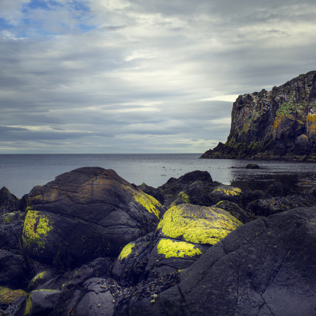 """FR Iceland East Coast Line"" stock image"