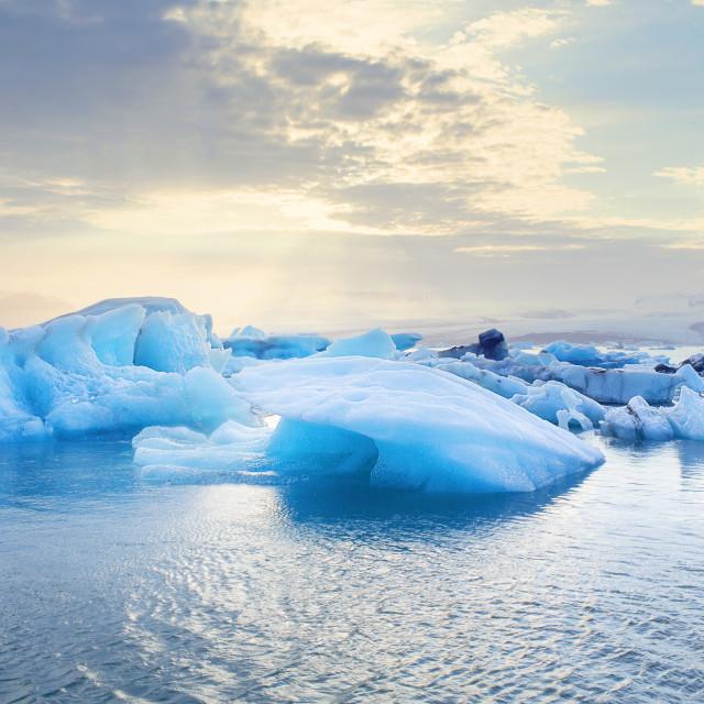"""""""FR Iceland Ice"""" stock image"""