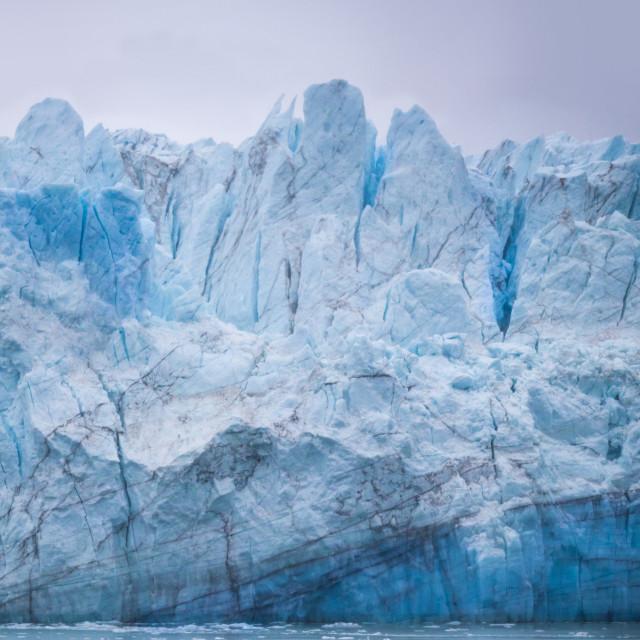 """Glacier 1"" stock image"