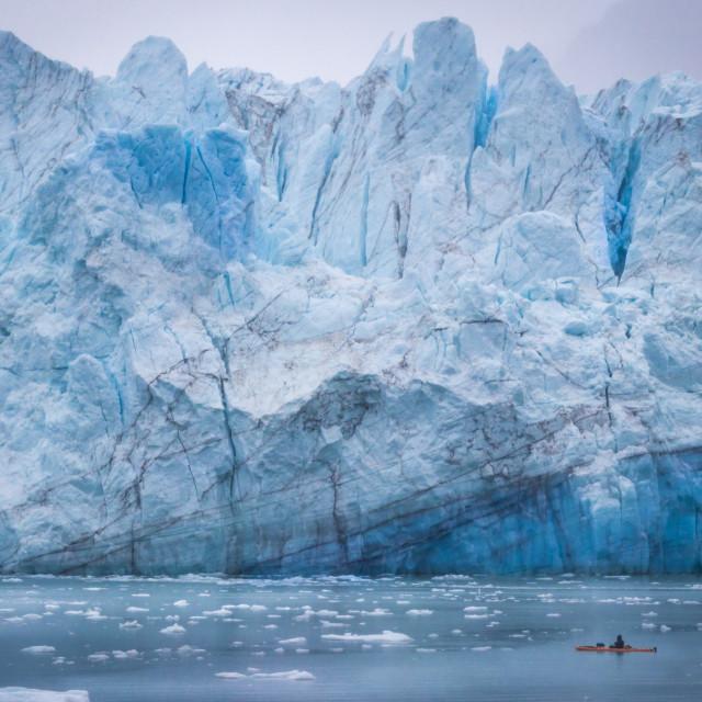"""Glacier 2"" stock image"