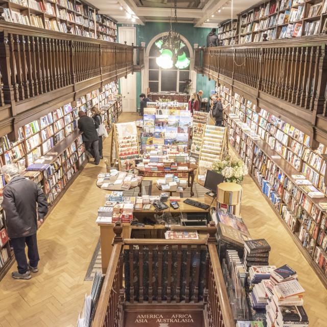 """Daunt Bookshop"" stock image"