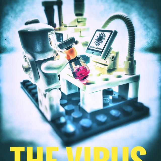 """""""The Virus"""" stock image"""
