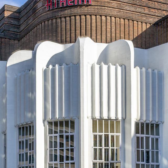 """Art Deco Cinema - Leicester"" stock image"