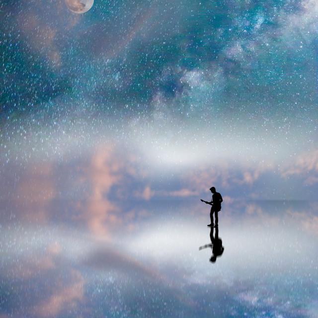 """""""Distant Dream"""" stock image"""