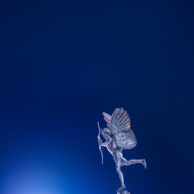 """""""Piccadilly Anteros"""" stock image"""