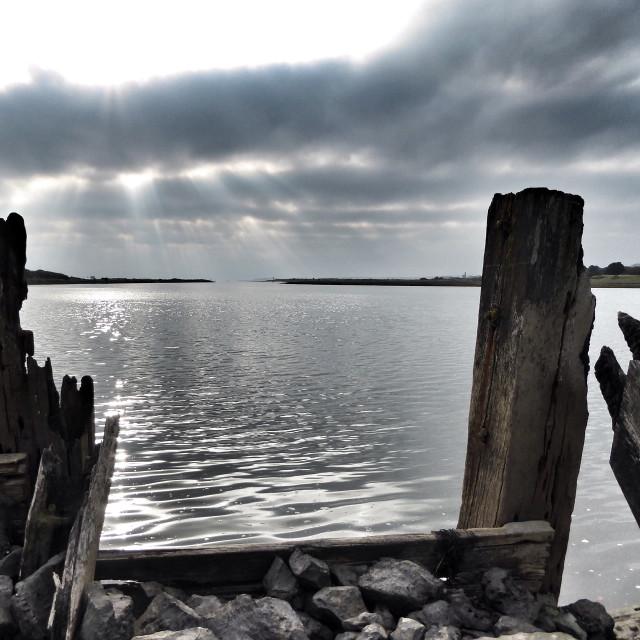 """""""Old docks"""" stock image"""