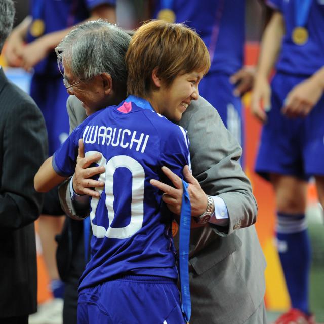 """17-07-2011 VOETBAL: WK VROUWEN FINALE VS-JAPAN:FRANKFURT"" stock image"