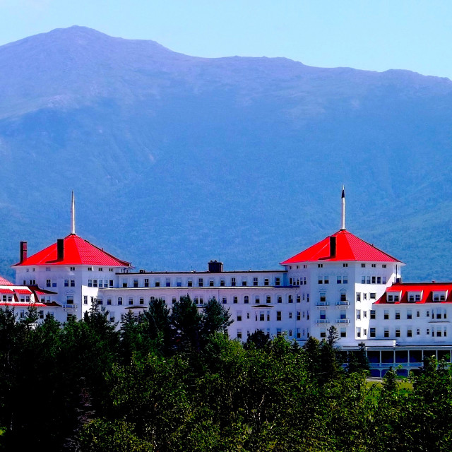 """MT WASHINGTON HOTEL IN NEW HAMPSHIRE"" stock image"