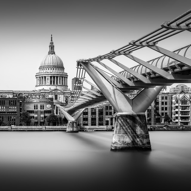 """The Walk to St Paul's (version III)"" stock image"