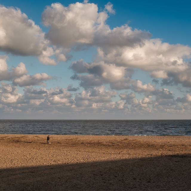"""Ramsgate Beach"" stock image"