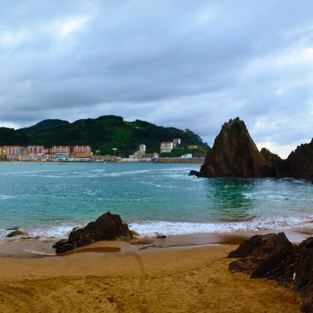 """Seaside in Spain"" stock image"