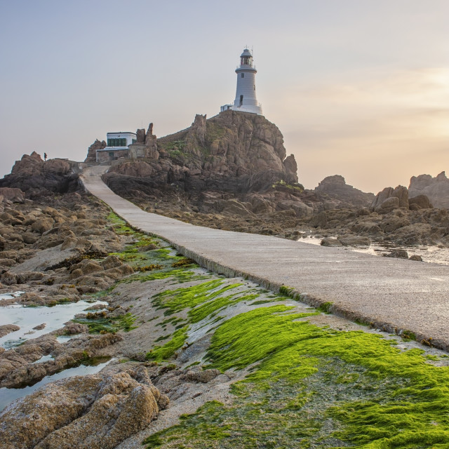 """Corbiere Lighthouse"" stock image"