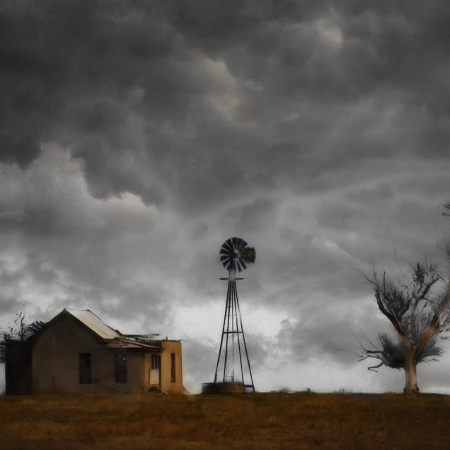 """Nobody Home"" stock image"