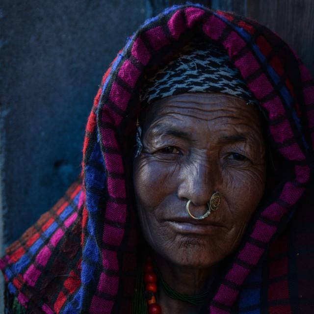 """""""Nepali Woman"""" stock image"""