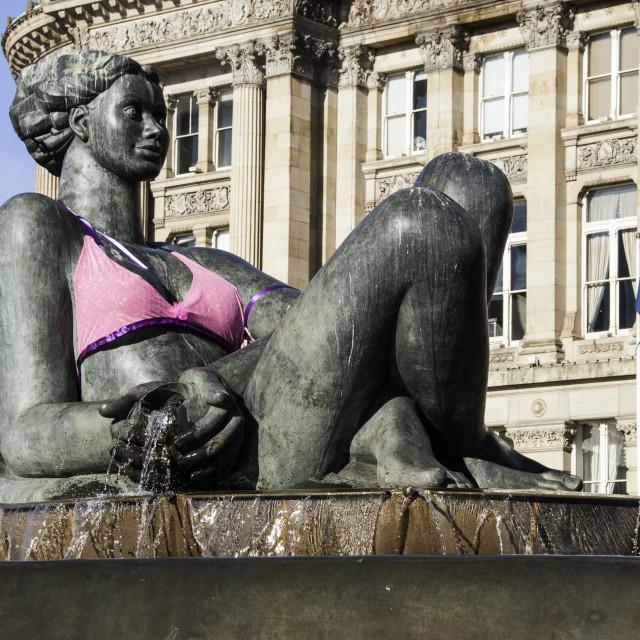 """""""Birmingham's Floozie"""" stock image"""