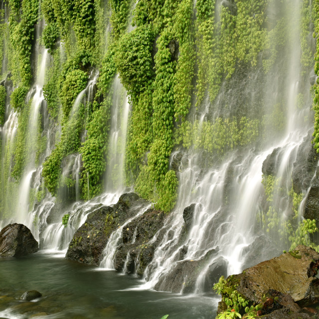 """Asik-Asik Falls in Alamada, North Cotabato, Philippines"" stock image"