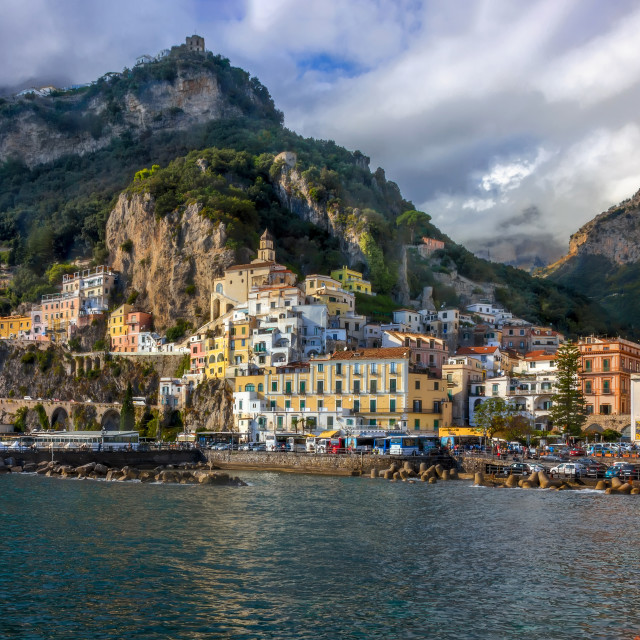 """Amalfi coast in Italy."" stock image"