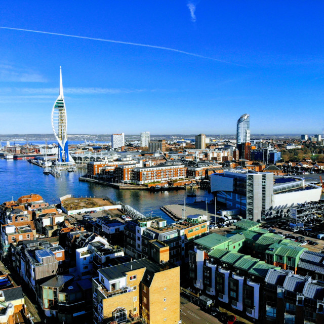 """Old Portsmouth"" stock image"