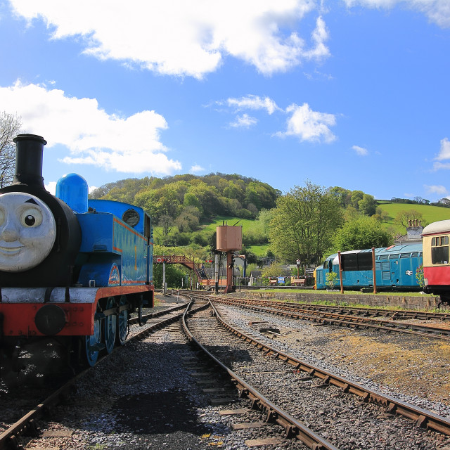 """""""Thomas the Tank Engine"""" stock image"""