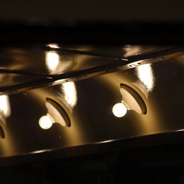 """Interior Lights"" stock image"