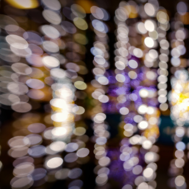 """""""Abstract bokeh light background"""" stock image"""