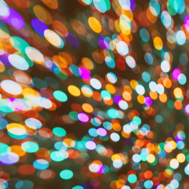 """""""Christmas holiday lights bokeh background"""" stock image"""