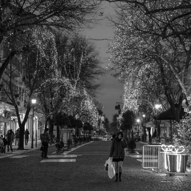 """Festive Season In Corfu"" stock image"