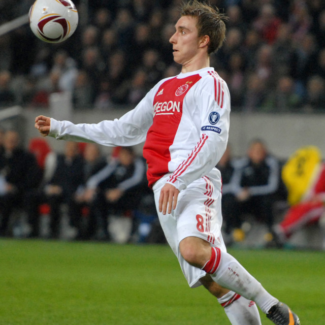 """Football - Europa League Round of 16 - Ajax v Spartak Moscow"" stock image"