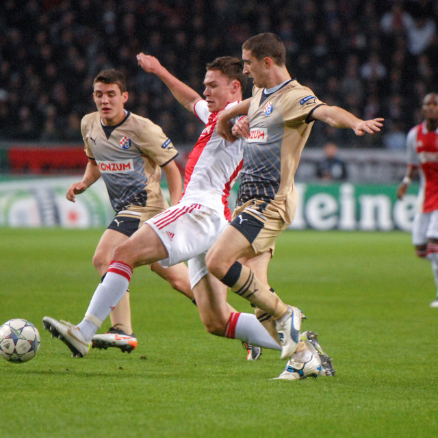 """Champions League Ajax - Dinamo Zagreb"" stock image"