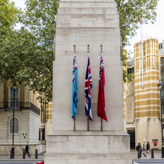 """The Cenotaph war memorial in Westminster, London, England, united Kingdom,..."" stock image"