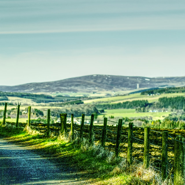 """""""View Of Ben Rinnes"""" stock image"""