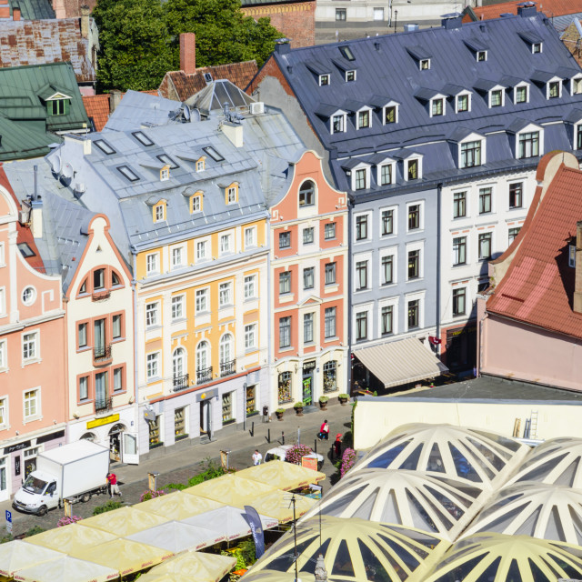 """Old Town Riga, Latvia"" stock image"