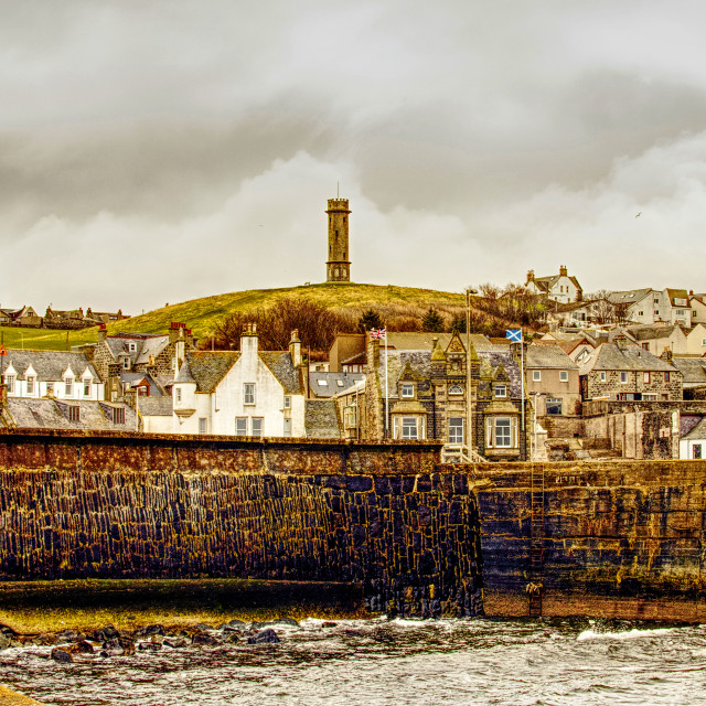 """""""Harbour & Town"""" stock image"""