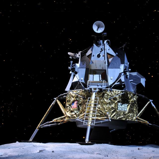"""""""Apollo 17"""" stock image"""