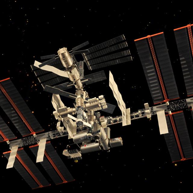 """International Space Station"" stock image"