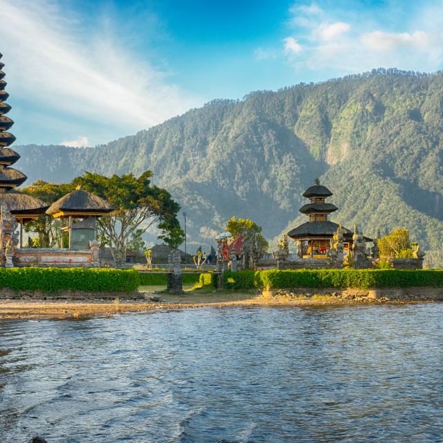 """Bali Pura Ulun Danu Bratan"" stock image"