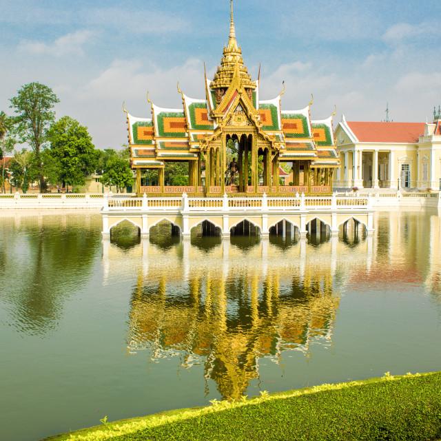 """Thailand Buddhist Temple"" stock image"