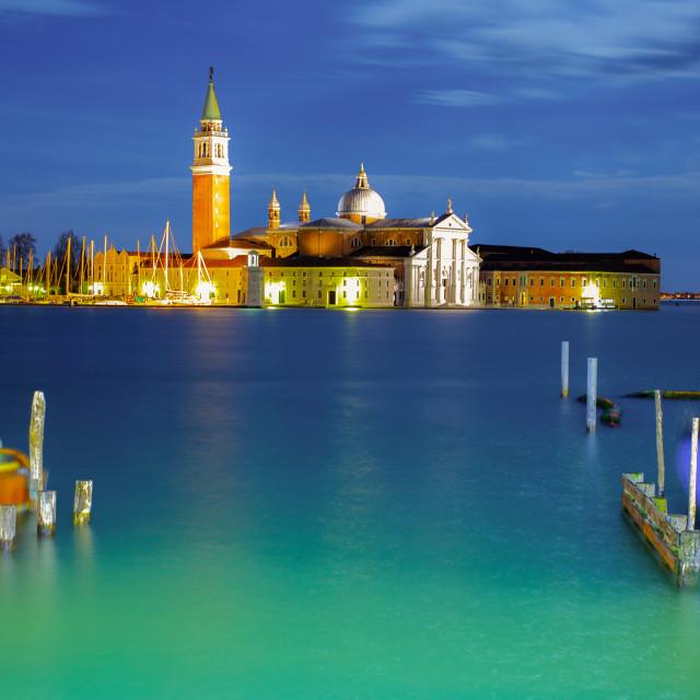 """""""San Giorgio Maggiore Venice"""" stock image"""