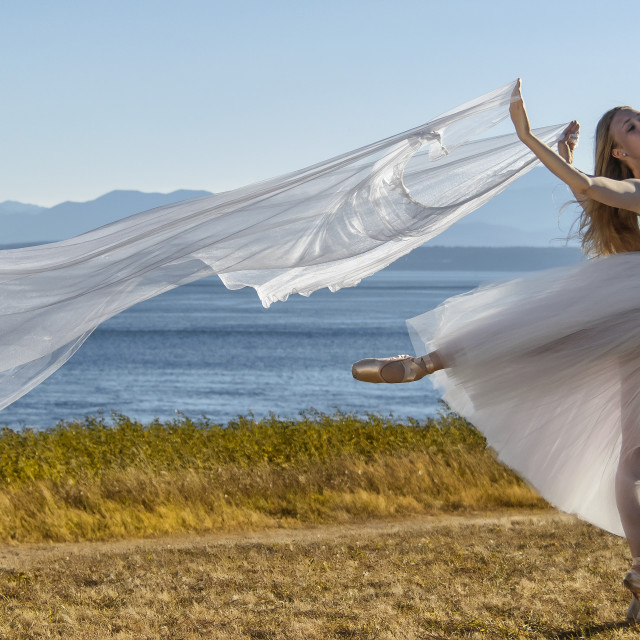 """Dance Freedom"" stock image"