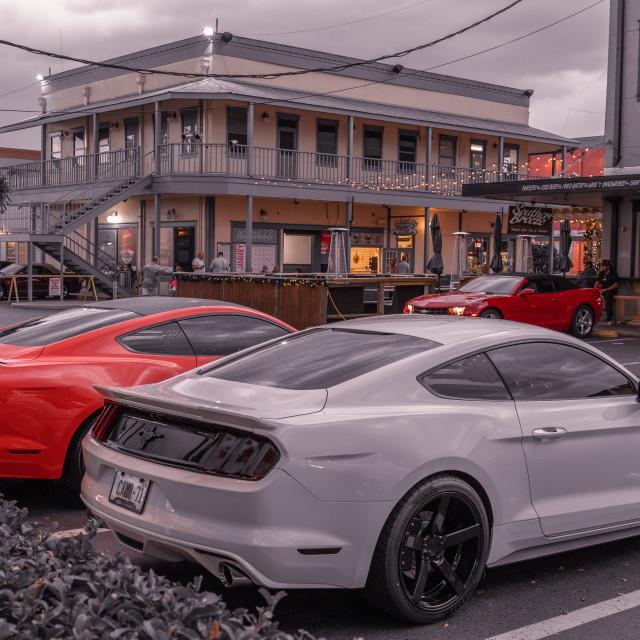 """""""Car Show - Florida"""" stock image"""
