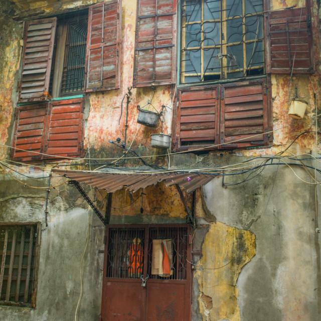 """""""Macao Neighbourhood"""" stock image"""