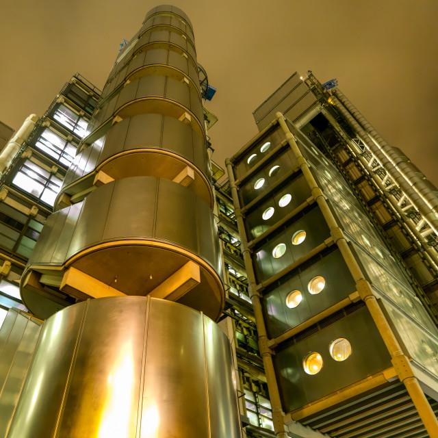 """Lloyds of London"" stock image"