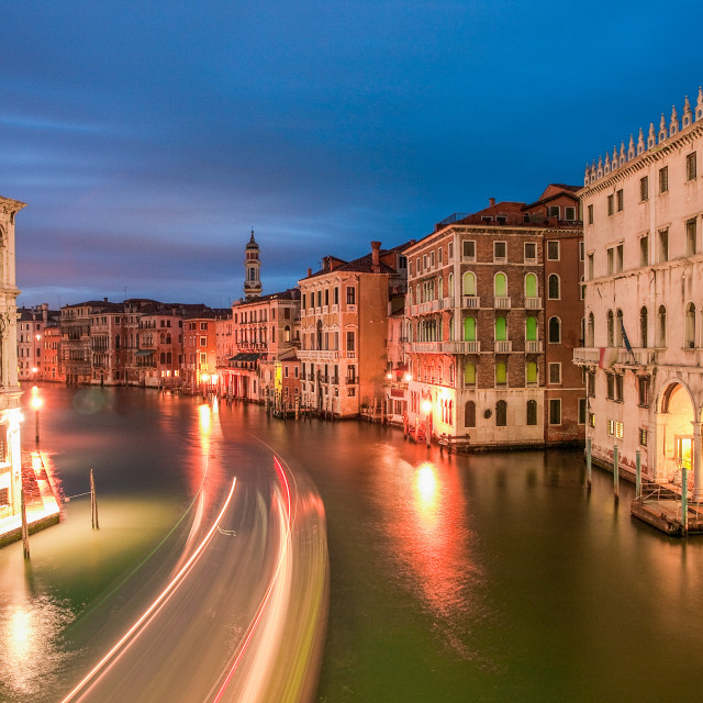 """""""Venice Grand Canal"""" stock image"""